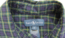 Load image into Gallery viewer, Ralph Lauren Collared Shirt- Boys size (6) and Boy Size (10-12)
