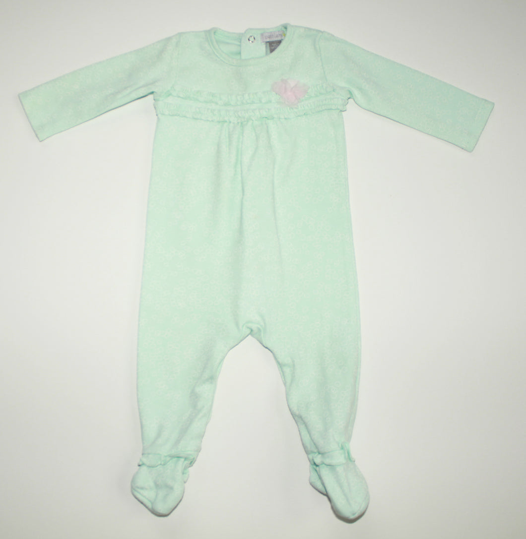 Petit Lemon Long Sleeve Onesie- Baby Girl (6M)