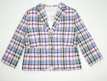 Load image into Gallery viewer, Janie and Jack Plaid Blazer- Toddler Boy (3T)