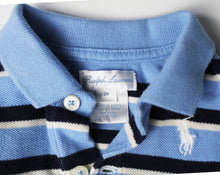Load image into Gallery viewer, Ralph Lauren Striped Collared Shirt- Baby Boy (0M-3M)