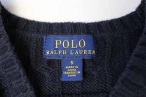 Ralph Lauren Cable Sweater- Toddler Boy (5T)
