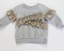 Load image into Gallery viewer, Calvin Klein LS Ruffle Crew Neck - Baby Girl (18M)