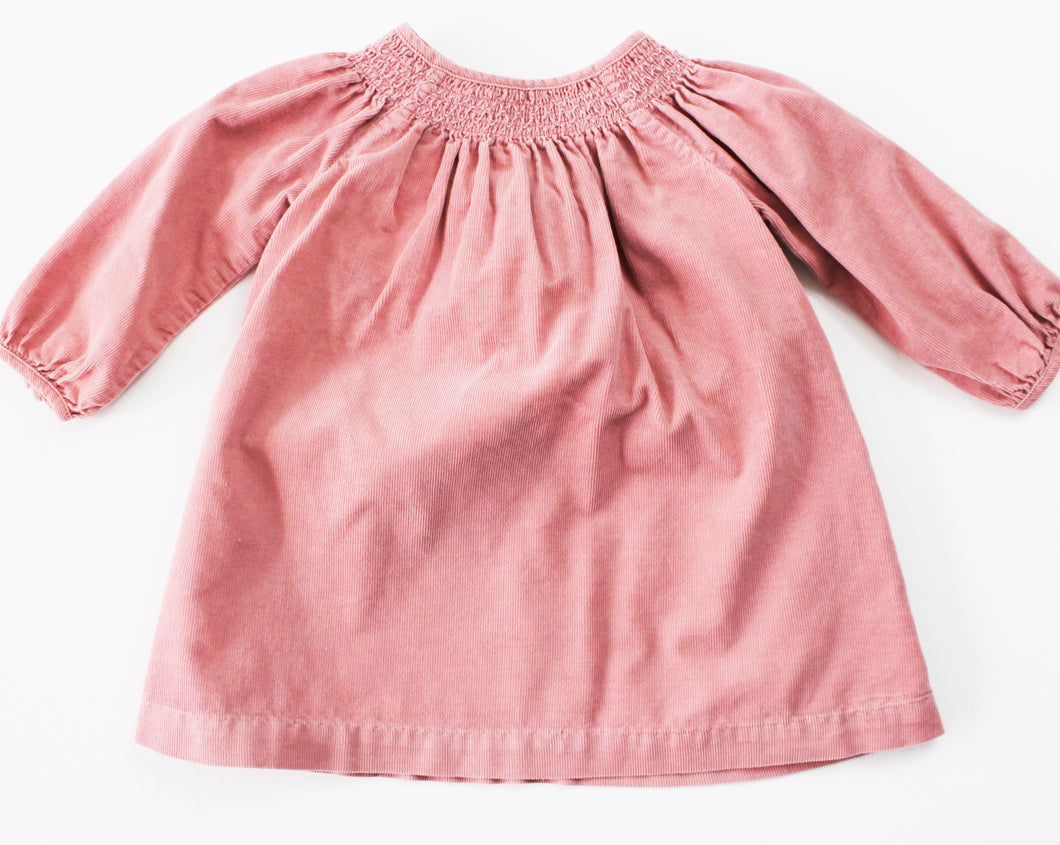 Ralph Lauren Corduroy Dress- Baby Girl (6M)