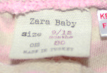 Load image into Gallery viewer, Zara Pull On Striped Ruffle Short- Baby Girl (9M-12M)