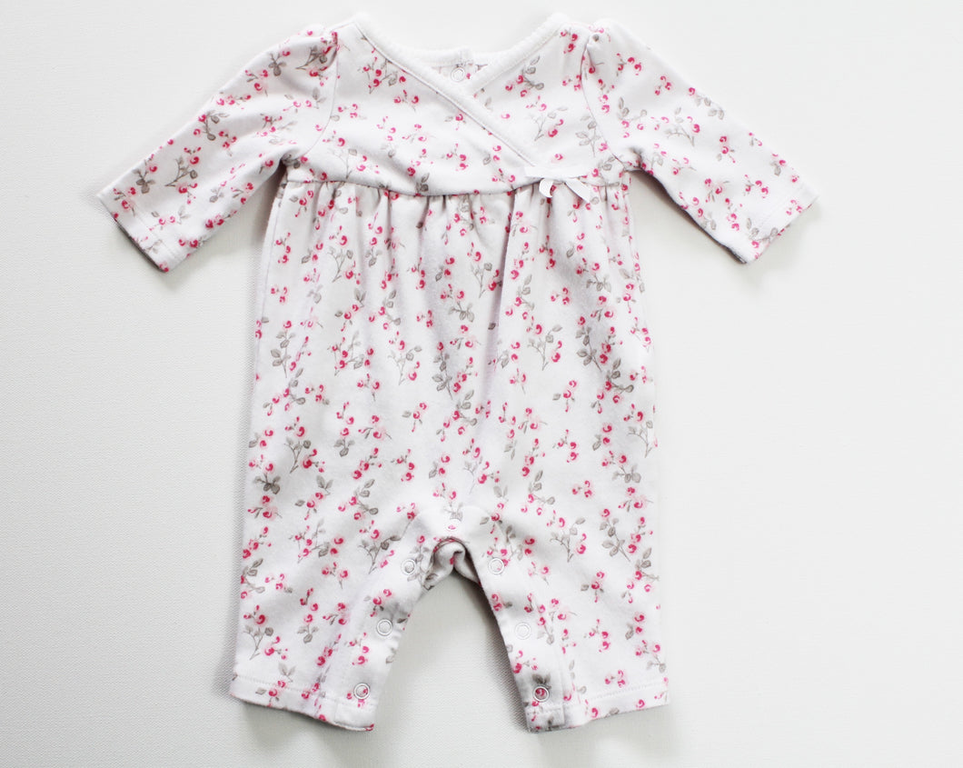 Janie and Jack Onesie- Baby Girl (0M-3M)