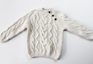 Zara Cable Knit Sweater- Unisex 4T