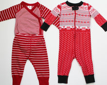 Load image into Gallery viewer, Hanna Andersson PJ Bundle Set of 2 - Unisex (6M-12M)