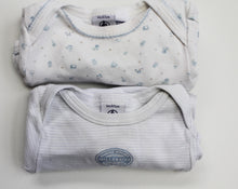 Load image into Gallery viewer, Petit Bateau Onesies- Baby Boy (0M-3M)