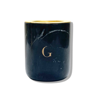 Load image into Gallery viewer, Nero Marquina Marble Candle