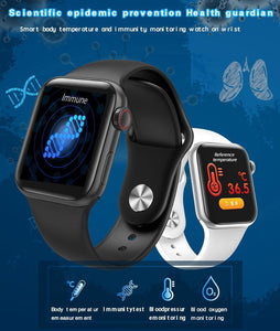 W58 pro Wrist Wearable Thermometer Health Tracker Smart Watch IP68 Waterproof [Buy 2 get free shipping]