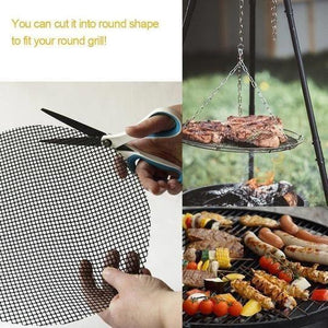 NEW MATERIAL GLASS FIBER GREEN ENVIRONMENTAL PROTECTION BARBECUE NET