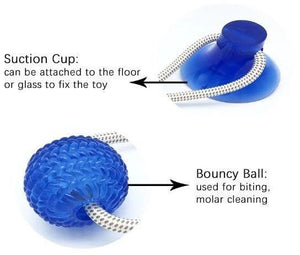 ROPEBALL®: Keep your dog active and happy with this fun and challenging toy!