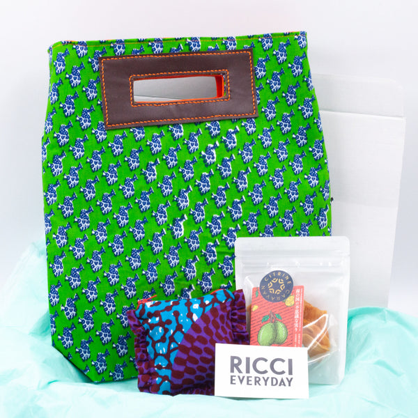 Gift Box-Medium Akello-Holo Holo Blue & Green-