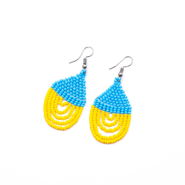 Masai Beads Earrings Circle-For Copy-