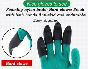 (2020 HOT SALE!! )Garden Glove with Claws