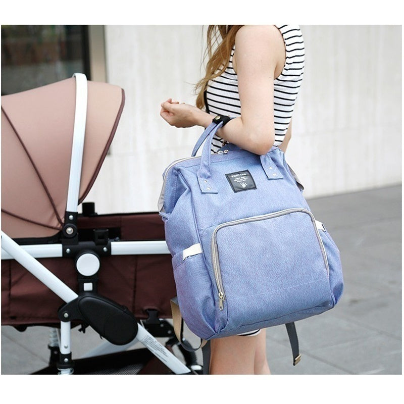 New Children Baby Changing Diaper Nappy Mummy Bag Mummy Maternity Nappy Bag Brand Large Capacity Baby Bag Travel Backpack Desiger Nursing Bag (KaMon)