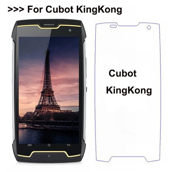 Tempered Glass For Cubot King Kong IP68 Screen Protector Phone Protective Film For Cubot KingKong Glass 2017 For Cubot  Kingkong 3