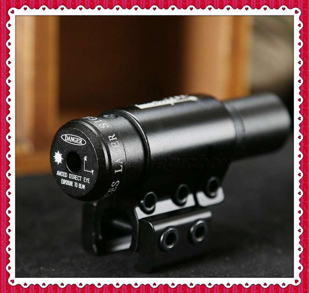 Hunting sights laser Tactical Red Laser Beam Sight Scope w/ Mount for Gun Rifle Pistol Picatinny