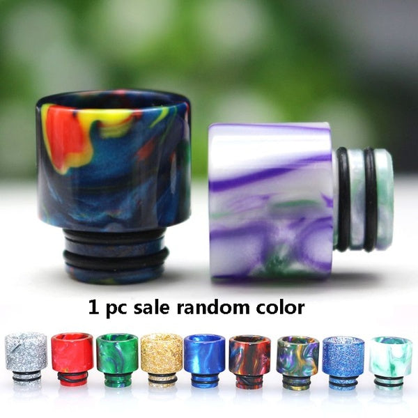 Drip Tip Connector Resin Wide Bore Mouthpiece Vape Electronic E-Cigarette Accessory for 510 Thread Mouthpiece Tanks Epoxy RDA RTA Atomizer GIG