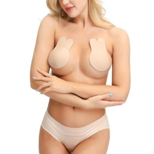 Women Invisible Silicone Breast Pads Boob Lift Tape Bra Nipple Cover Sticker