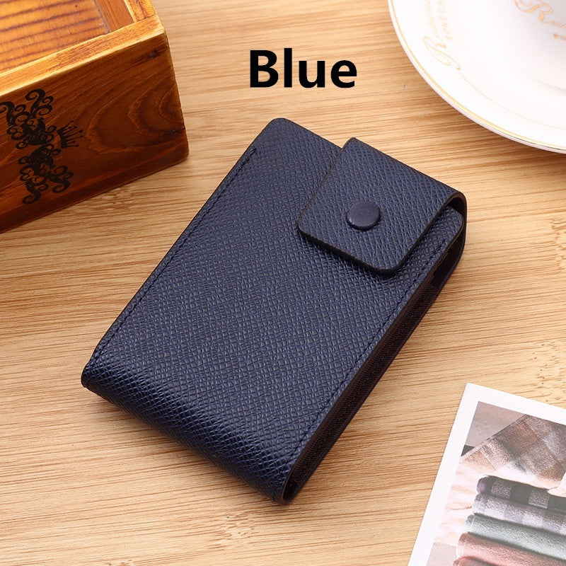 Multifunctional Card Set For Men And Women Organ Card Bag ID Card Bank Card Credit Card Clamp Business ID Credit Card Wallet Holder Name Cards Case Pocket Organizer