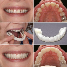 Load image into Gallery viewer, Silicone Cosmetic Snap On Instant Perfect Smile Comfort Fit Flex Teeth Veneers