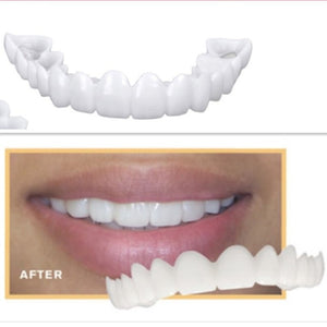 Silicone Cosmetic Snap On Instant Perfect Smile Comfort Fit Flex Teeth Veneers