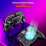 New Six-finger Game Artifact Charging Cooling and Other Multi-function Mobile Game Controller Standard Cooling