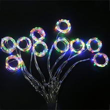 Load image into Gallery viewer, 100/200/300LED Blue/White/Warm White/Multicolor Light Romantic Christmas Wedding Outdoor Decoration Curtain String Light