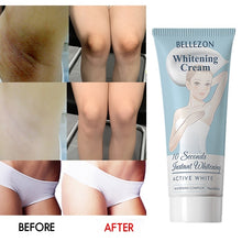 Load image into Gallery viewer, 50ml/60ml New Natural Active Enzyme Body Whitening Crystal Soap Private Parts Tender Pink Bleaching Skin Fade Areola Nipples Perineum Elbow Remove Melanin Odor Handmade Charming Effective Flower Essential Oil Whitening Cream