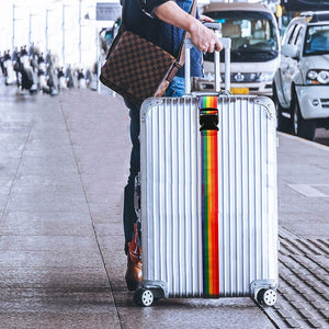 One Word Rainbow Luggage Belt Travel Luggage And Packing Belt Travel Luggage Bundled Belt