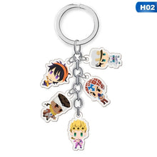 Load image into Gallery viewer, 1Pc Anime Jojo'S Bizarre Adventure Acrylic Keychain Pendant Keyring Collection Gifts