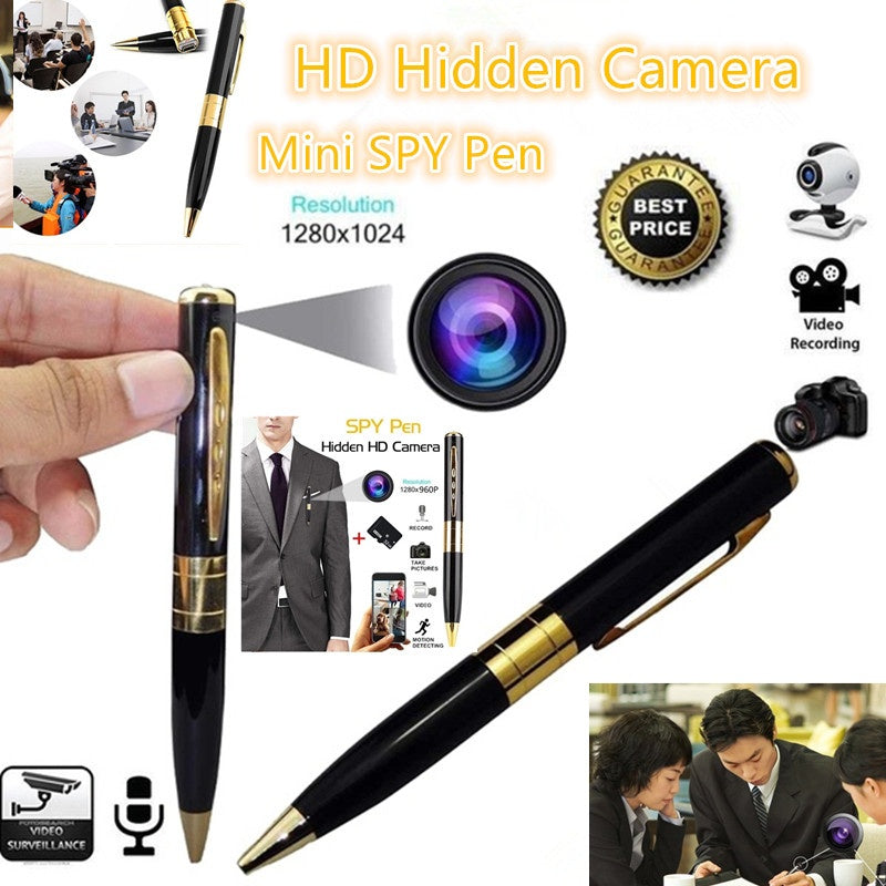 Mini HD1280x960 Spy Pen Camera Hidden Camera Micro SD Card DV DVR Video Mini Camera