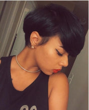 Load image into Gallery viewer, 100% Brazilian Human Hair Short Pixie Wig for Women