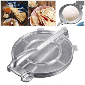 Foldable Tortilla Press Maker Heavy Aluminum Meat Bakeware Cake Press Utensils