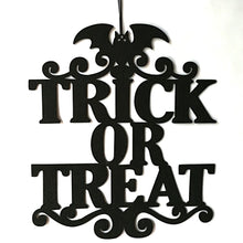 Load image into Gallery viewer, The Witch Is In Halloween Hanging Sign Door Hanging Halloween Decoration