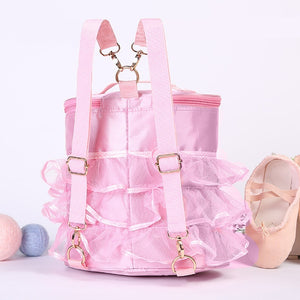 1 Pc  Children's Ballet Dance Lace Side Pack