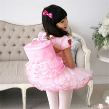 Load image into Gallery viewer, 1 Pc  Children's Ballet Dance Lace Side Pack