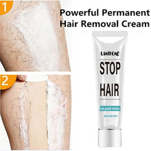Load image into Gallery viewer, Hot Sale !!! NR Powerful Permanent Stop Hair Growth Inhibitor Hair Removal Cream Bikini Area Cream Bikini Line Cream