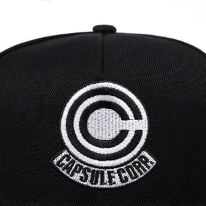 Capsule Embroidery Hip Hop Hat Dragon Ball Anime Cotton Embroidery Snapback Hat Unisex Baseball Cap Men's and Women's Hat