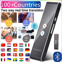 Load image into Gallery viewer, Portable Smart Voice Speech Translator Two-Way Real Time 100+ Countries 30 Multi-Language Translation For Learning Travelling Business Meeting