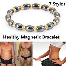 Load image into Gallery viewer, 7 Styles Men and women Fashion Bracelet Magnetic health bracelet for loss weight Slimming