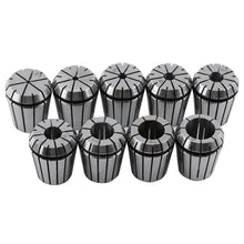 Load image into Gallery viewer, 1pcs New MT3 M12 ER32 Collet Chuck Morse Taper Holder + 9pcs ER32 Spring Collets