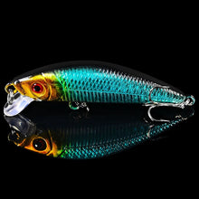 Load image into Gallery viewer, 8PC Minnow Fishing Lure 7cm/8g Crank Bait 6# Treble Hooks Bass Crankbait Artificial Trout Wobblers Tackle