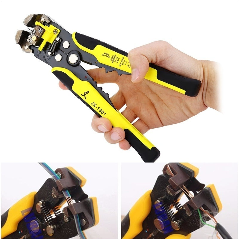 Multifuction Automatic Wire Stripper Cable Cutter Stripper Crimper Cutting Pliers Tool