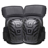 1 Pair Work Knee Pads with Gel Padding Adjustable Straps for Gardening Construction Works