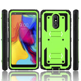 Stylo 5 Phone Case with Holder Heavy Duty Shockproof Armor Phone Cover for LG Stylo 5