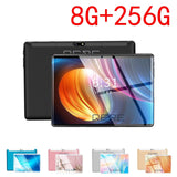 QERE tablet android 9.0 ten core 10.1 inch 2560*1600 8G+256G wifi dual sim card call phone tablets pc