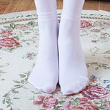 Girl Stretchy Meias Over The Knee High Socks Stockings Tights With Bows Thigh