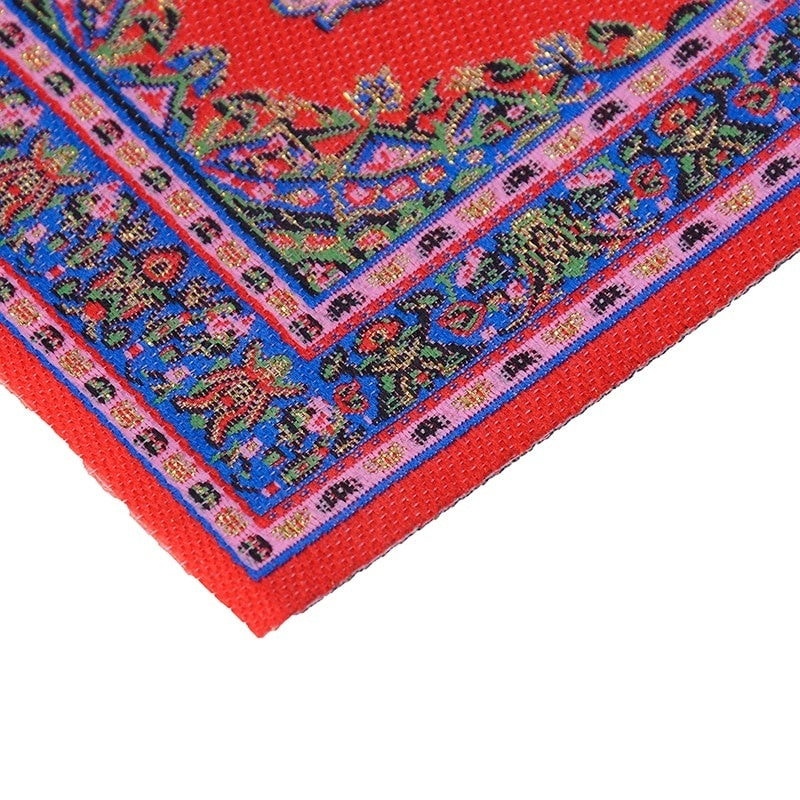 1:12 Dollhouse Miniature Turkish Style Area Rug/Carpet/Mat Floor Coverings for Dolls House